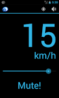Screenshot of Speaking Speedometer