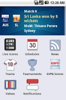 Screenshot of iCricket Cricket Scores & Info