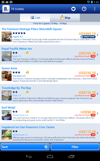 booking-com-300-000-hotels for android screenshot