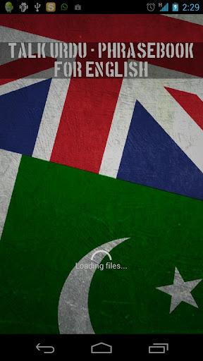 Talk Urdu Phrasebook