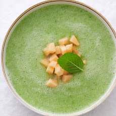 Chilled Cucumber Melon Soup
