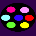 Colored Flashlight icon