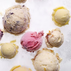 Black Plum, Port, and Cinnamon Ice Cream