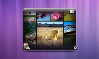 Screenshot of Dell Stage Photo Widget