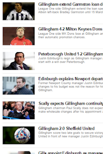 Latest -  Gillingham - screenshot