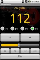 Screenshot of Metronome