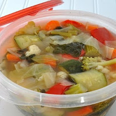 Weight Watchers Fresh Vegetable Soup ♥