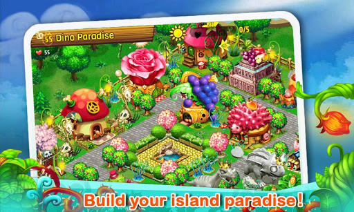 dino-paradise-with-papaya for android screenshot