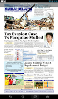 Screenshot of Manila Bulletin