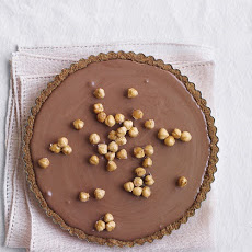 Chocolate Mousse Tart with Hazelnuts