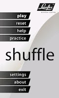 Screenshot of Luxaflex Shuffle
