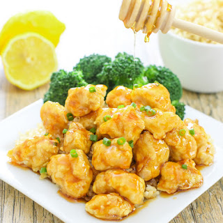 Baked Crunchy Honey Lemon Chicken
