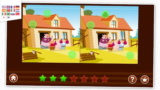 7 differences - Game for kids - screenshot
