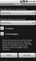 Screenshot of SMSBiljett (GRATIS)
