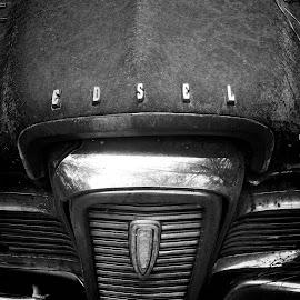 Relic Edsel by Blaine Pratt - Transportation Automobiles