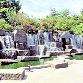 FDR Memorial by Ray Stevens - Buildings & Architecture Statues & Monuments