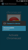 Screenshot of VBChromecast