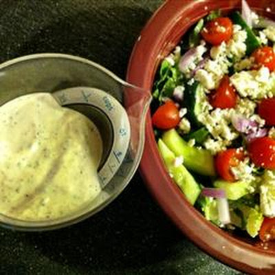 Creamy Greek Dressing