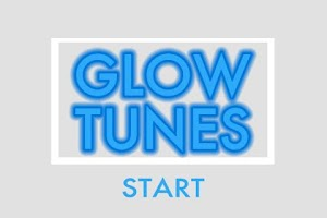 Screenshot of GlowTunes