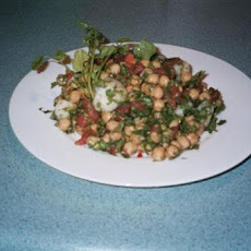 Chana (Chickpeas) Chaat