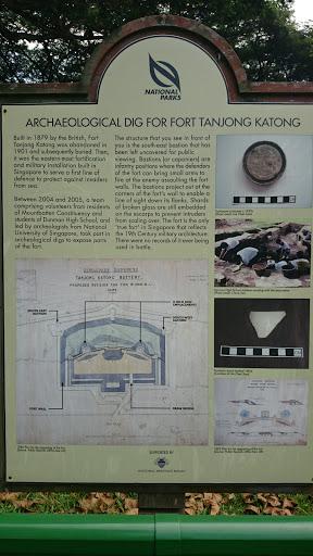 Archaeological Dig Of Fort Tanjong Katong