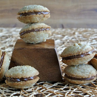Shortbread Chocolate Sandwich Cookies