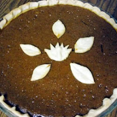 Pumpkin Toffee Pie