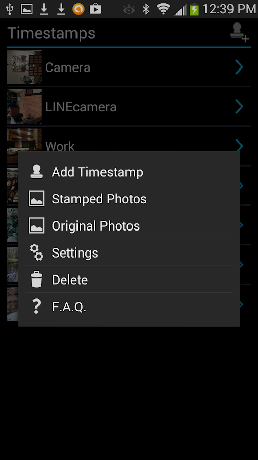 Camera Timestamp Add-on Screenshot 3