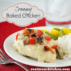 Creamy Baked Chicken