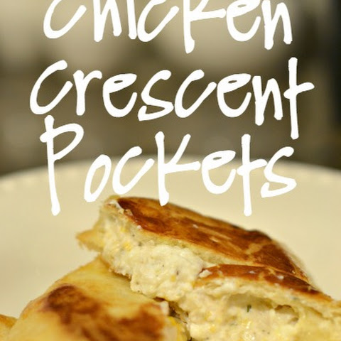 Cheesy Chicken Crescent Pockets