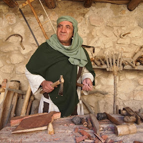 Carpenter from Nazareth by Name of Rose - People Professional People ( old, nazareth, ancient, time of christ, carpenter, man )