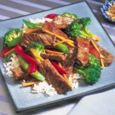 Asian Beef and Vegetable Stir-Fry