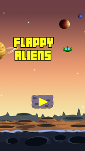 Flappy Alien-UFO Attack - screenshot