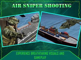 Screenshot of Gunship Sniper Shooting 3D