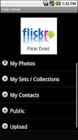 Screenshot of Flickr Droid (Lite)