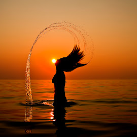 Summer sunset in GREECE by Giannis Paraschou - People Street & Candids ( summer sunset in greece )