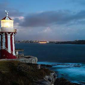 Hornby Lighthouse by Helen Tweedie - Buildings & Architecture Public & Historical