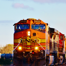 BNSF 5422  4004 by Jim Suter - Transportation Trains