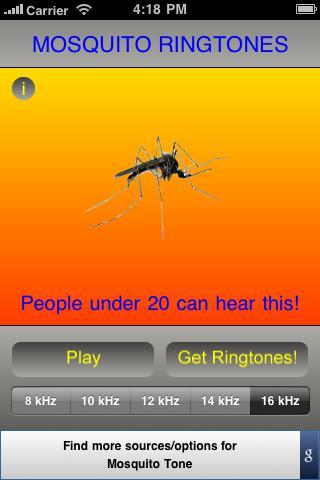 Mosquito Ringtones