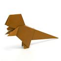 Dinosaur Origami 4 icon