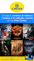 Screenshot of Cinesa: Cartelera de películas