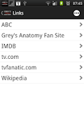Screenshot of Grey's Anatomy Fan