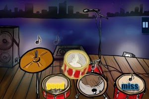 Screenshot of Hit the Drums