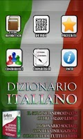 Screenshot of Italian dictionary FREE