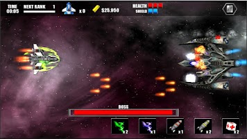 Screenshot of Celestial Assault