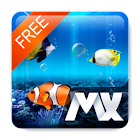[Live] MX Free Theme Aquarium icon