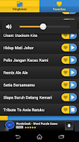 Screenshot of JDT Football Ringtones