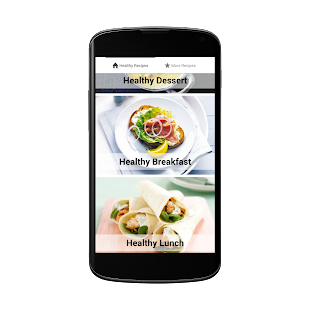 Healthy Recipes Free - screenshot