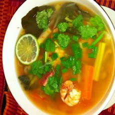 Vegetable Tom Yum Soup