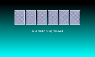 Screenshot of Missing Card Trick